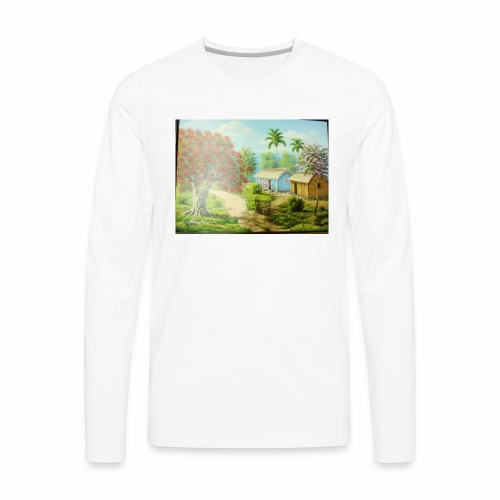 Country Side - Men's Premium Long Sleeve T-Shirt