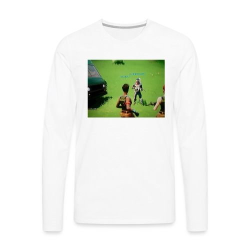 best skin - Men's Premium Long Sleeve T-Shirt