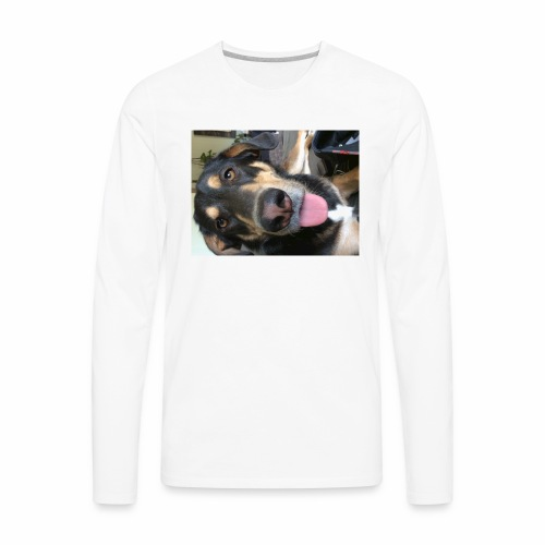 The cutest dog ever - Men's Premium Long Sleeve T-Shirt