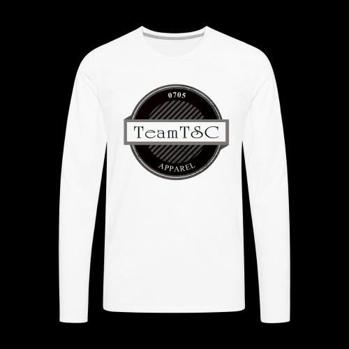 TeamTSC Badge - Men's Premium Long Sleeve T-Shirt