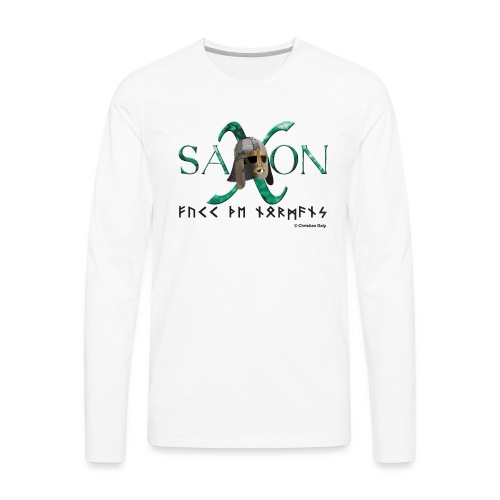 Saxon Pride - Men's Premium Long Sleeve T-Shirt