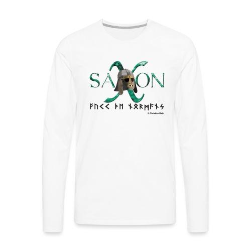 Saxon Pride - Men's Premium Long Sleeve T-Shirt
