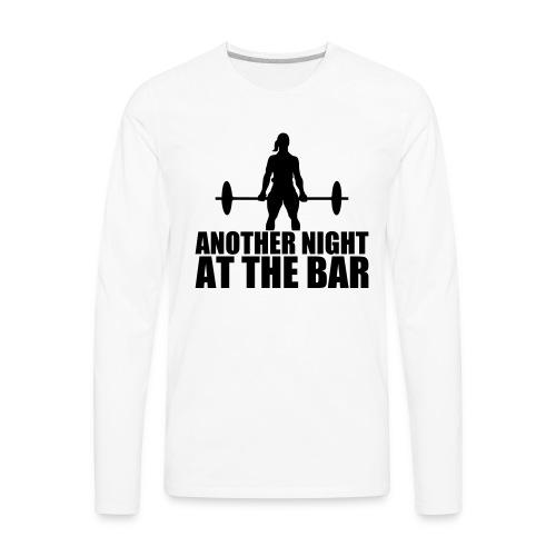 Another Night at the Bar - Men's Premium Long Sleeve T-Shirt