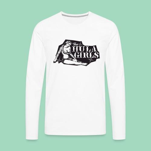 The Hula Girls band logo - Men's Premium Long Sleeve T-Shirt
