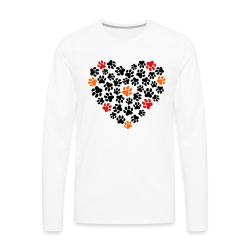 Animal Love - Men's Premium Long Sleeve T-Shirt