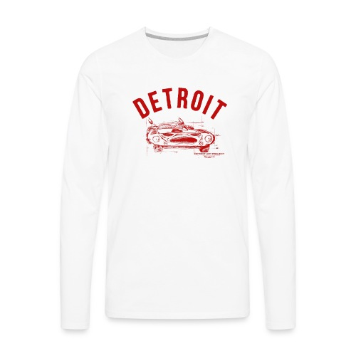 Detroit Art Project - Men's Premium Long Sleeve T-Shirt