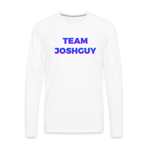 Team JoshGuy - Men's Premium Long Sleeve T-Shirt