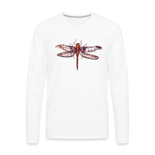 Dragonfly red - Men's Premium Long Sleeve T-Shirt