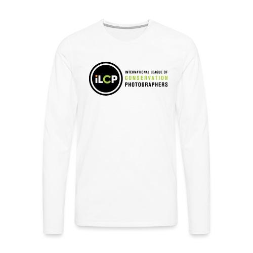 iLCP logo horizontal RGB png - Men's Premium Long Sleeve T-Shirt