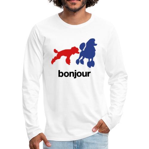 Bonjour - Men's Premium Long Sleeve T-Shirt