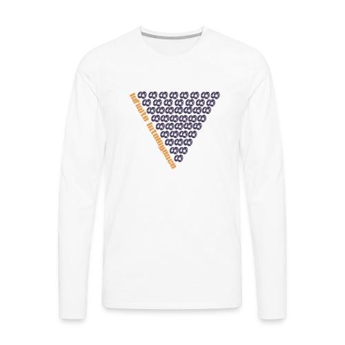 infinite intelligence - Men's Premium Long Sleeve T-Shirt