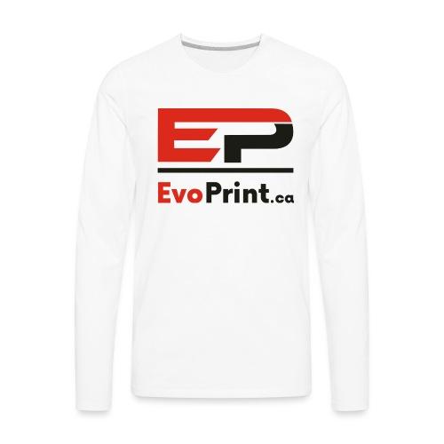 Evo_Print-ca_PNG - Men's Premium Long Sleeve T-Shirt