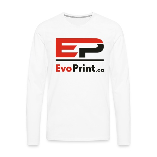 Evo_Print-ca_PNG - Men's Premium Long Sleeve T-Shirt