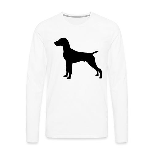 German Shorthaired Pointer - Men's Premium Long Sleeve T-Shirt