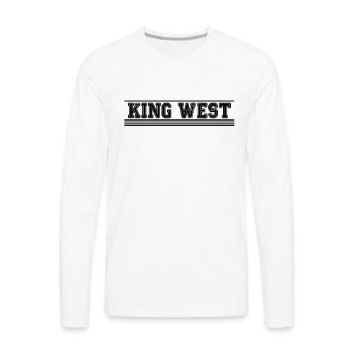 King West OG logo - Men's Premium Long Sleeve T-Shirt