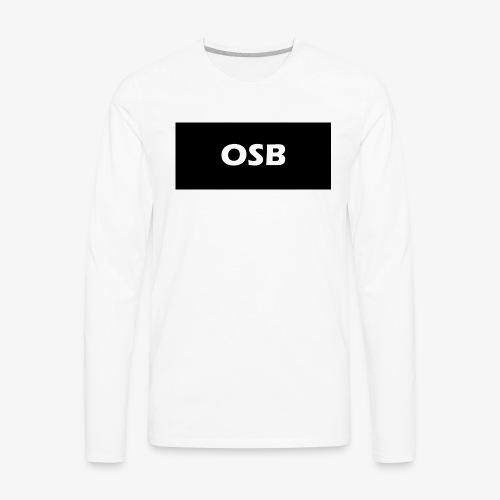 OSB LIMITED clothing - Men's Premium Long Sleeve T-Shirt