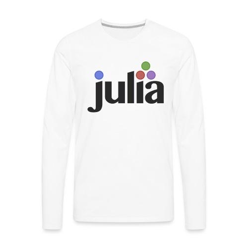 Official Julia Logo - Men's Premium Long Sleeve T-Shirt
