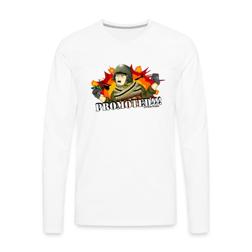 Promoted! Hank & Jed - Men's Premium Long Sleeve T-Shirt