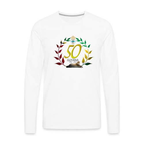 Guyana's 50th - Men's Premium Long Sleeve T-Shirt