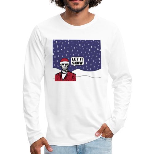 Let It Snow - Men's Premium Long Sleeve T-Shirt