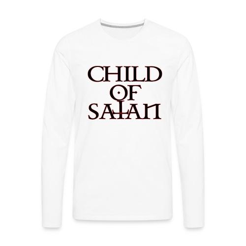 Child Of Satan - Men's Premium Long Sleeve T-Shirt