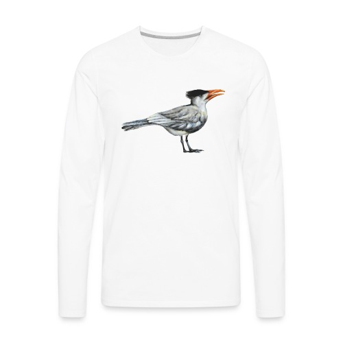 Royal Tern gull - Men's Premium Long Sleeve T-Shirt