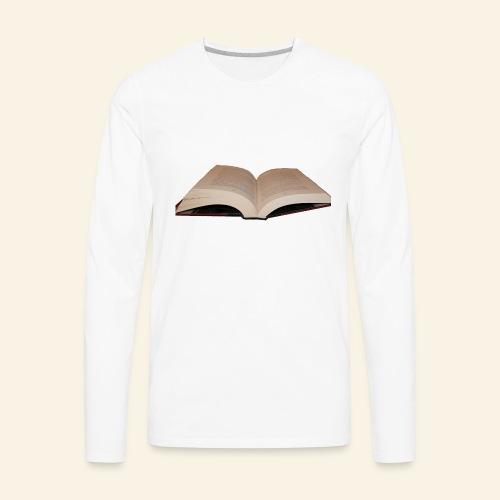 Book - Men's Premium Long Sleeve T-Shirt