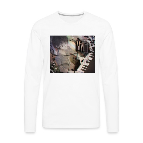 Dark Piano 1 - Men's Premium Long Sleeve T-Shirt