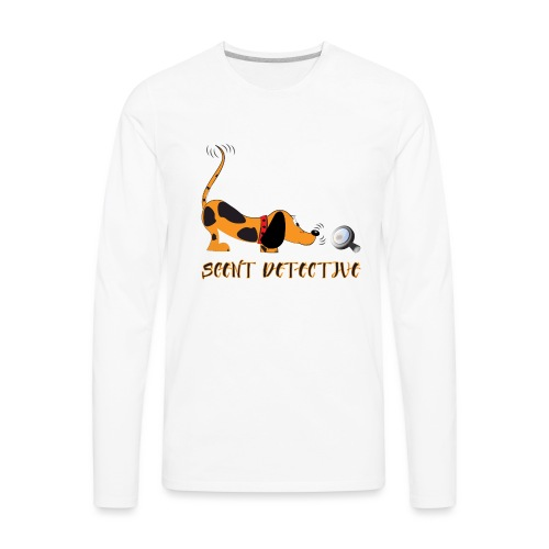 Scent Detective - Men's Premium Long Sleeve T-Shirt
