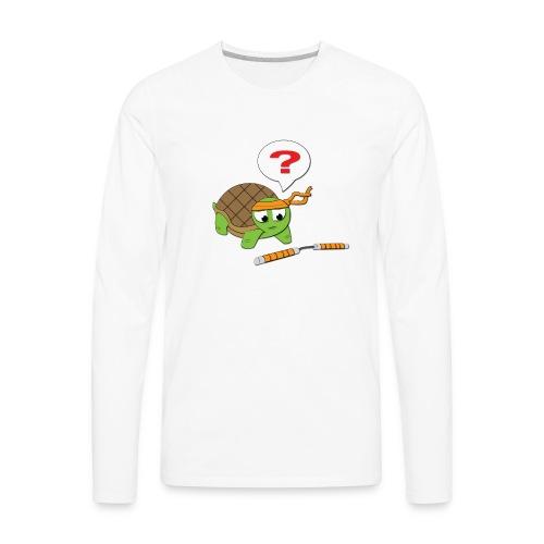 Baby Michaelangelo - Men's Premium Long Sleeve T-Shirt