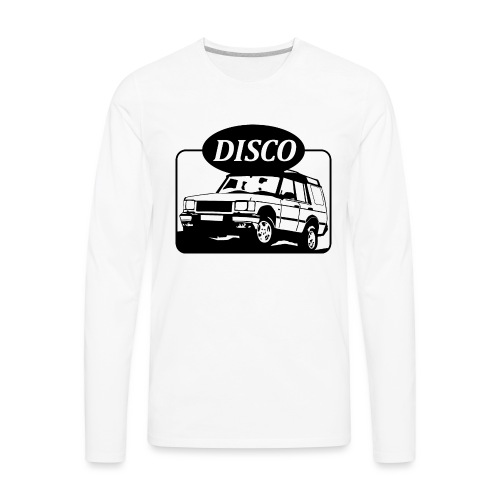 Land Rover Discovery illustration - Men's Premium Long Sleeve T-Shirt