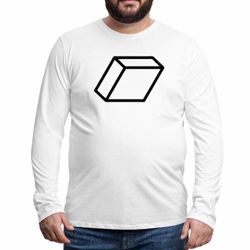 rhombus3 ai - Men's Premium Long Sleeve T-Shirt