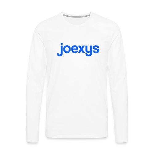 joexys_blue - Men's Premium Long Sleeve T-Shirt