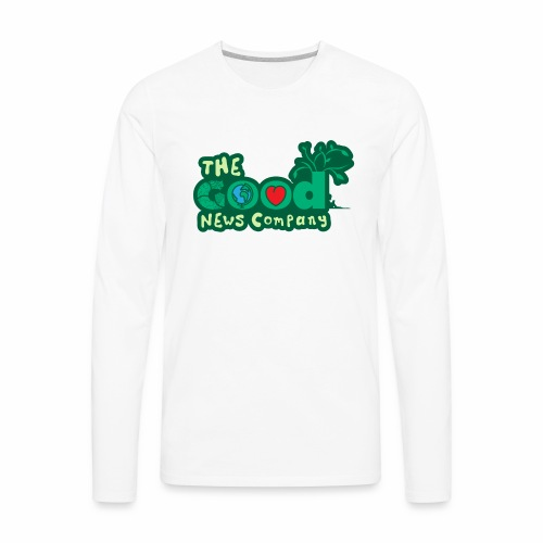 The GOOD News logo - Men's Premium Long Sleeve T-Shirt