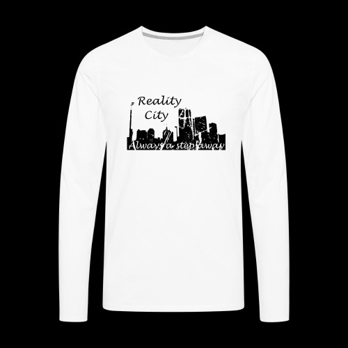 Reality City - light - Men's Premium Long Sleeve T-Shirt