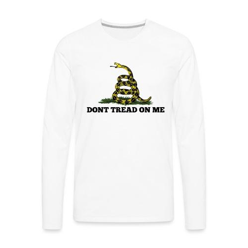 GADSDEN DONT TREAD ON ME - Men's Premium Long Sleeve T-Shirt