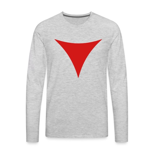 SWTOR Dark Side Points 1-Color - Men's Premium Long Sleeve T-Shirt