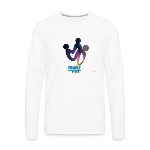 family first - Men's Premium Long Sleeve T-Shirt