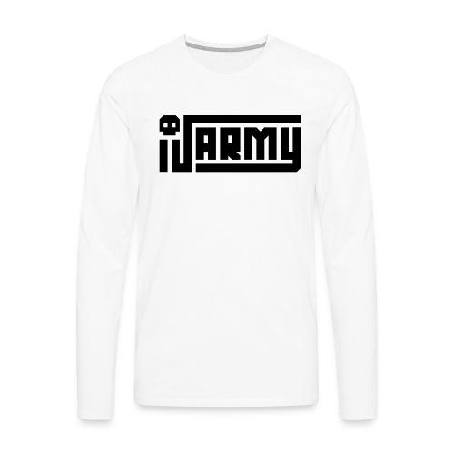 iJustine - iJ Army Logo - Men's Premium Long Sleeve T-Shirt