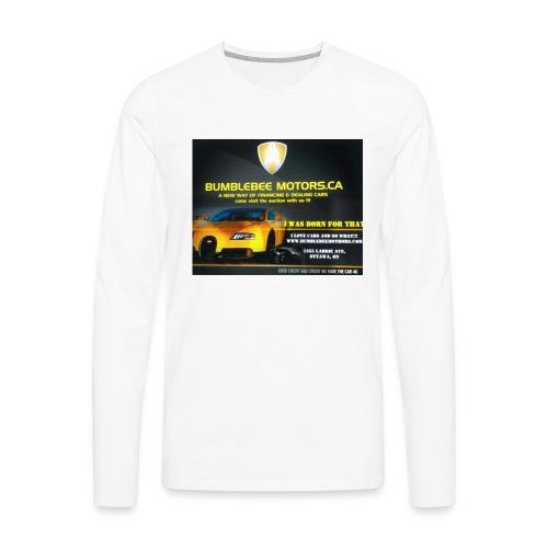BUMBLEBEE MOTORS - Men's Premium Long Sleeve T-Shirt