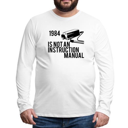 1984 - Men's Premium Long Sleeve T-Shirt