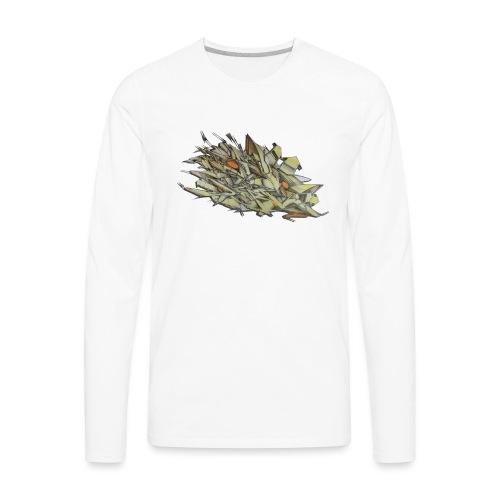 Pensil One - NYG Design - Men's Premium Long Sleeve T-Shirt