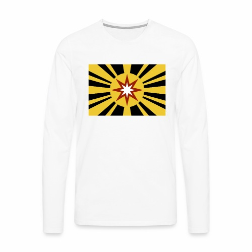 Ad Astra Flag Color - Men's Premium Long Sleeve T-Shirt