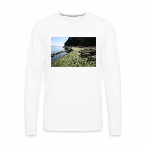 Russell Island Clam Garden - Men's Premium Long Sleeve T-Shirt