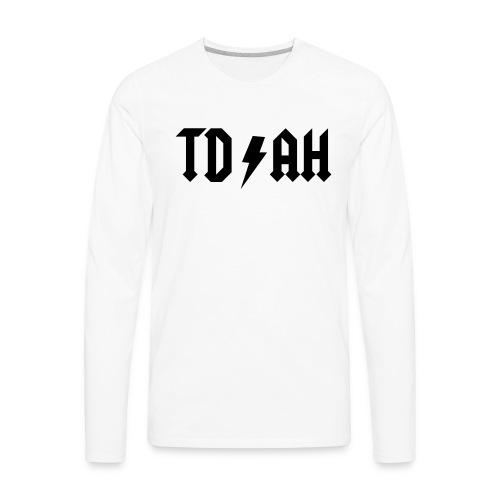 tdah - Men's Premium Long Sleeve T-Shirt