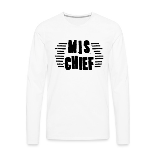 MISCHIEF SCRATCH - Men's Premium Long Sleeve T-Shirt