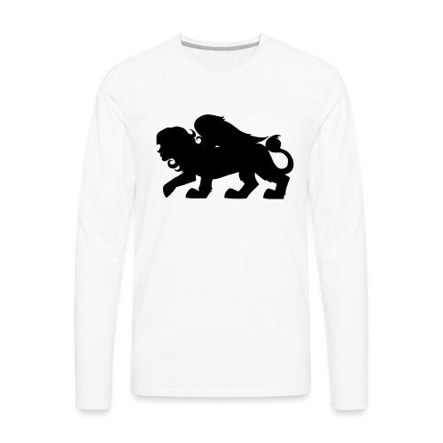 Sphynx Silhouette - Men's Premium Long Sleeve T-Shirt