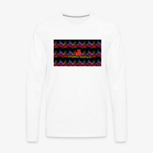 My YouTube channel banner - Men's Premium Long Sleeve T-Shirt