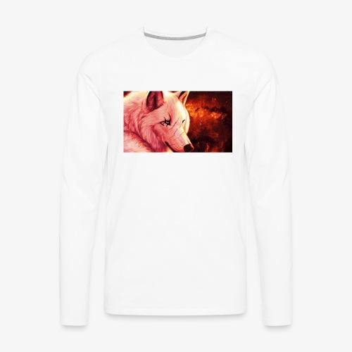 TheRedWolf logo - Men's Premium Long Sleeve T-Shirt