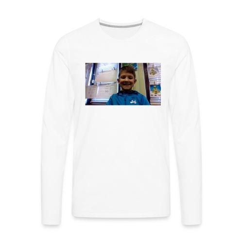 Nate - Men's Premium Long Sleeve T-Shirt